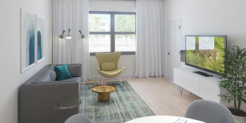 Garden Flat B Bedroom